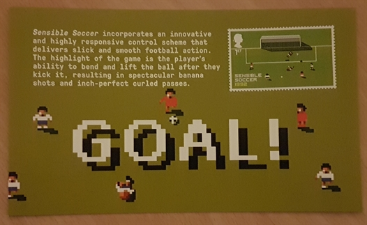 Sensible Soccer. Apart from a football manager I played on my Atari 800XL, probably the only other football game I've ever played.