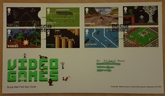 The First Day Cover... nifty!